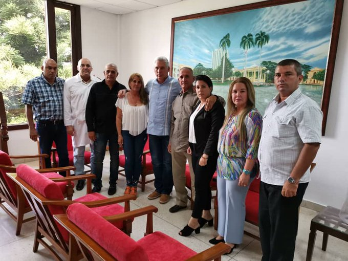 Diaz-Canel visits family of doctor abducted in Kenya