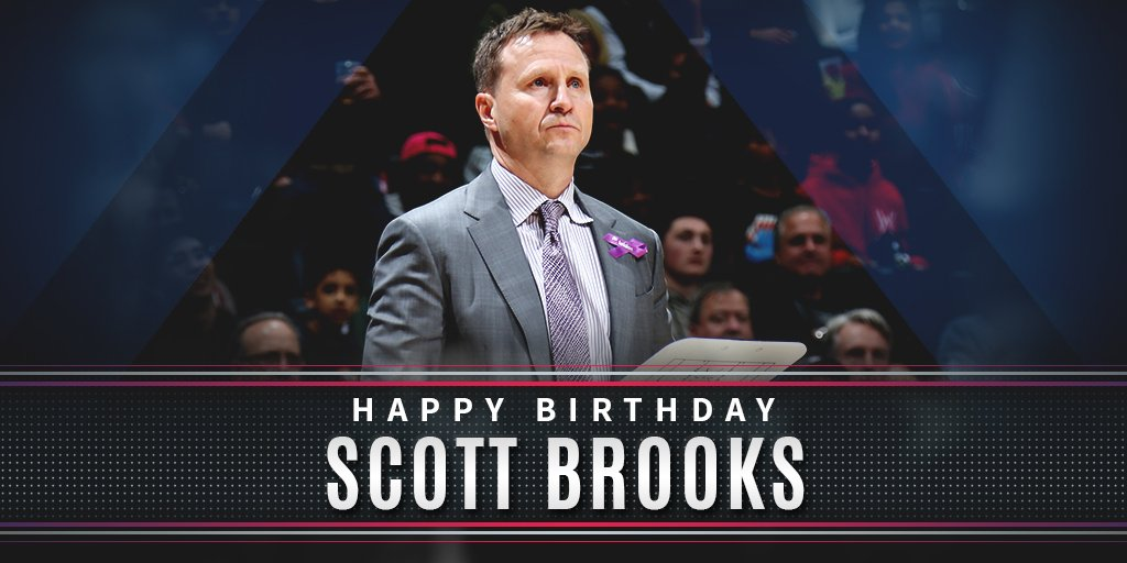 Everyone help us wish @WashWizards Head Coach Scott Brooks a Happy Birthday!
