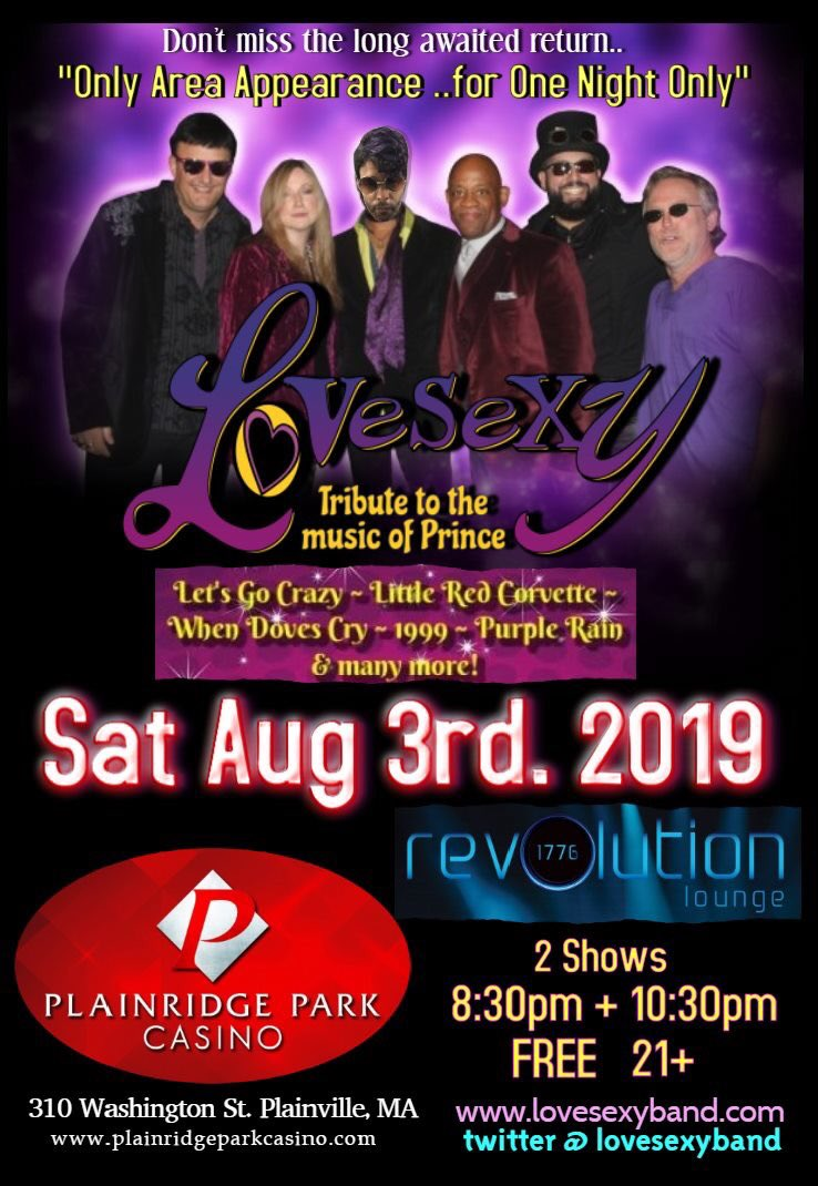 LoVeSeXy PRINCE Tribute Band (@LoVeSeXy_band)   Twitter