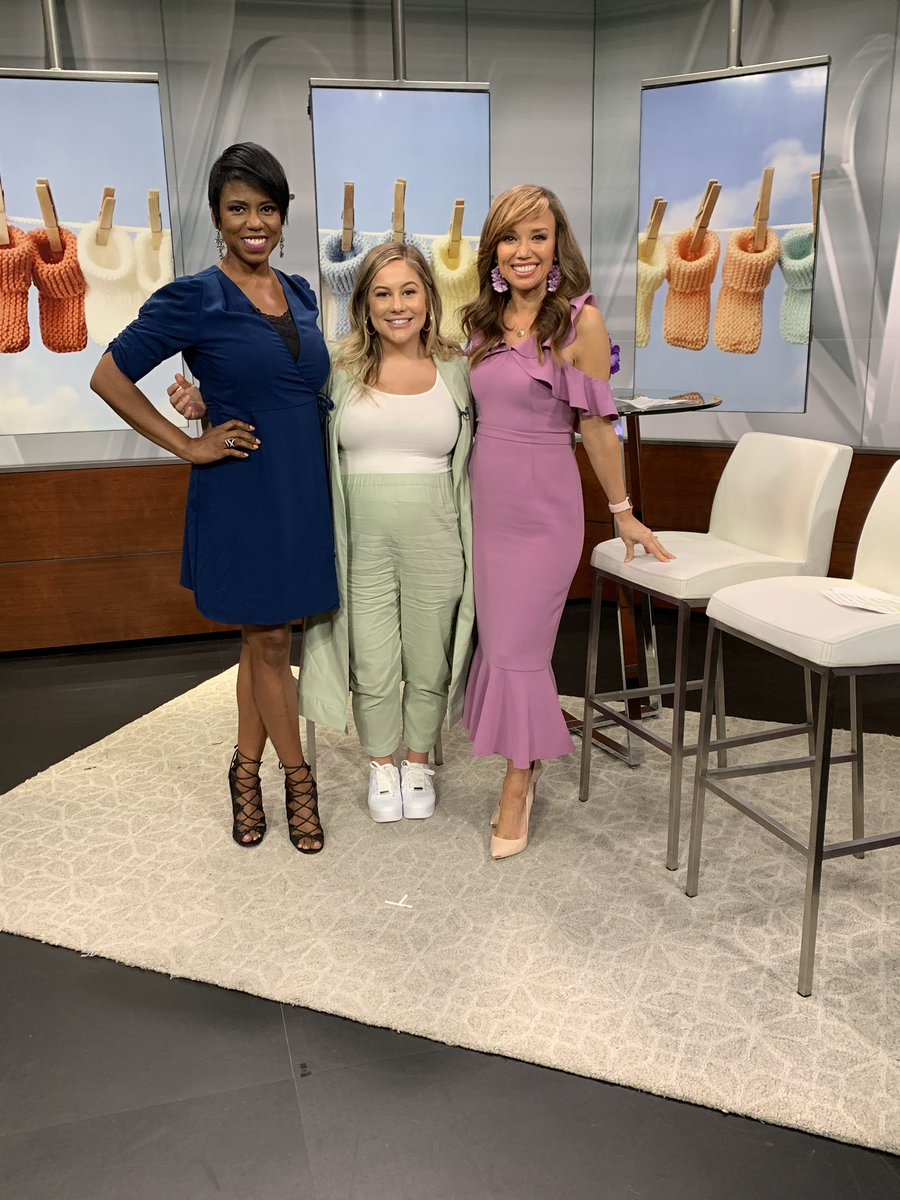 Shawn gets candid when it comes to her pregnancy, gymnastics legacy and more. Catch it here: youtube.com/c/NewYorkLivet…