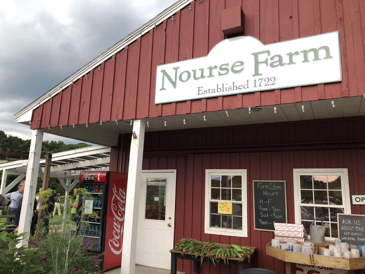 Rep Jim Mcgovern On Twitter Last Stop Of The Day Is Nourse Farm In Westborough They Ve Been Around Longer Than The United States Has Been A Country Family Owned Operated For