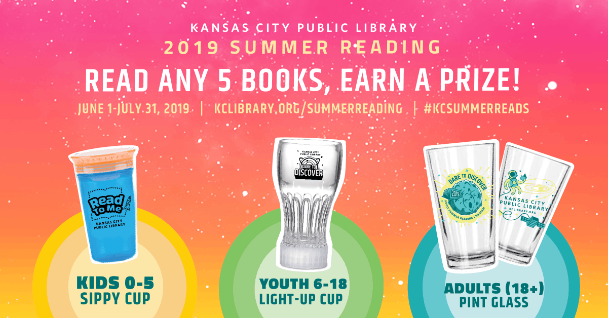 Today is the LAST DAY of our Summer Reading Program! Have you been reading & logging your books? Stellar prizes await you!  http:// bit.ly/2K9CLlr     #kcSummerReads <br>http://pic.twitter.com/A7vZCigBqQ