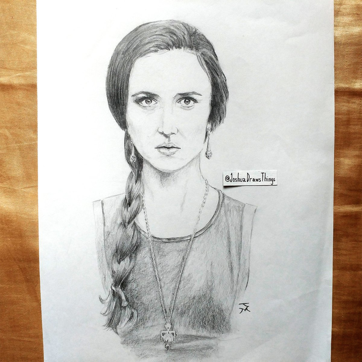 Happy 5th Anniversary, #TheQuest!  Here's an old sketch I did of @susannschka as #QueenRalia (orig ref pic by @roberic1).  Details:   @TheQuestABC is truly one of the greatest shows to ever air. Here's to season 2 so we, #TheQuestArmy can #ContinueTheQuest!