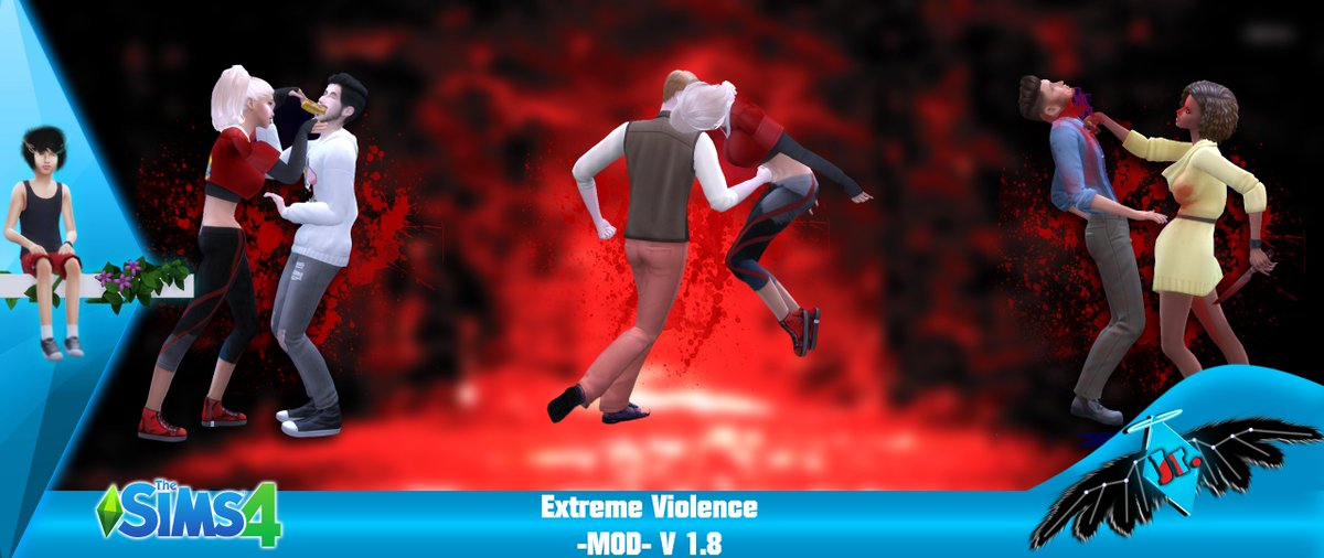 SACRIFICIAL (Sims 4 Mods) on Twitter: The Sims 4 Extreme Violence