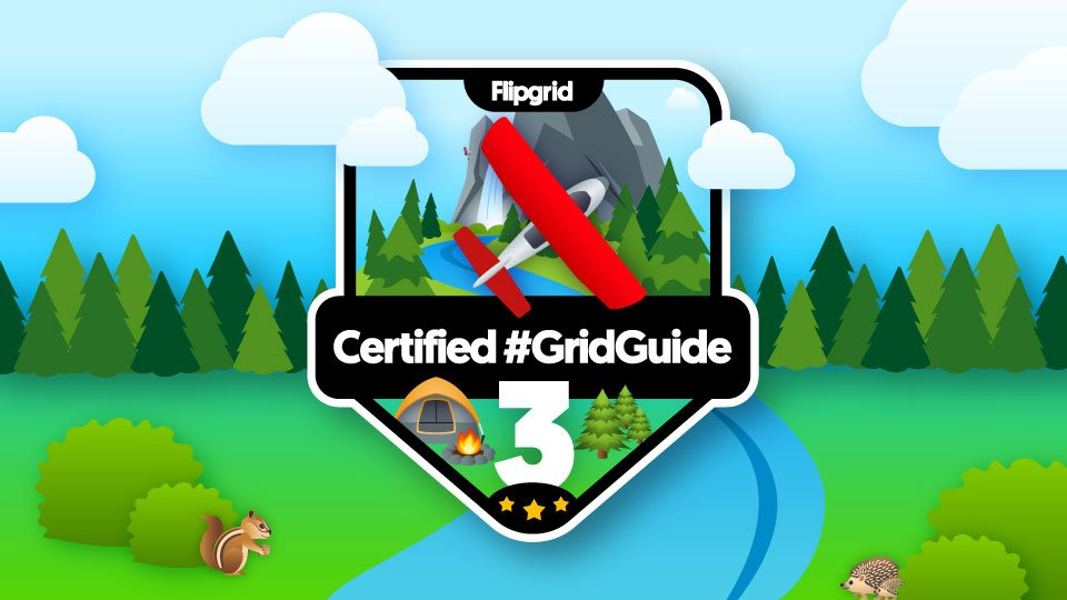 I am excited to rock my new @Flipgrid Certified Grid Guide badge! #FlipgridFever … https://t.co/Sj7hBST02O