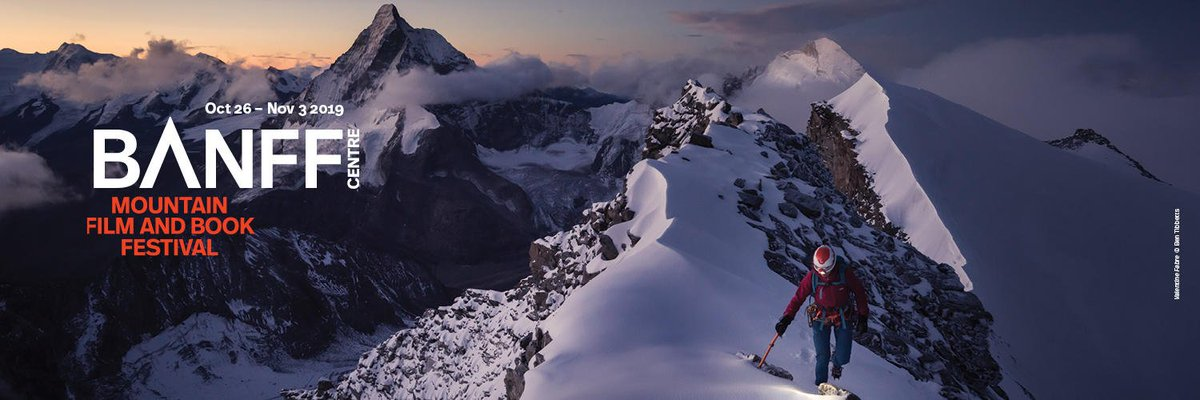 We're a proud partner of @BanffMtnFest which takes place this fall in Banff, Canada. Join us for #nineepicdays of films, presentations from adventurers including @sashadigiulian and @jedrekbargiel, and a mtn of free events. Tix on sale: http://fal.cn/33d62