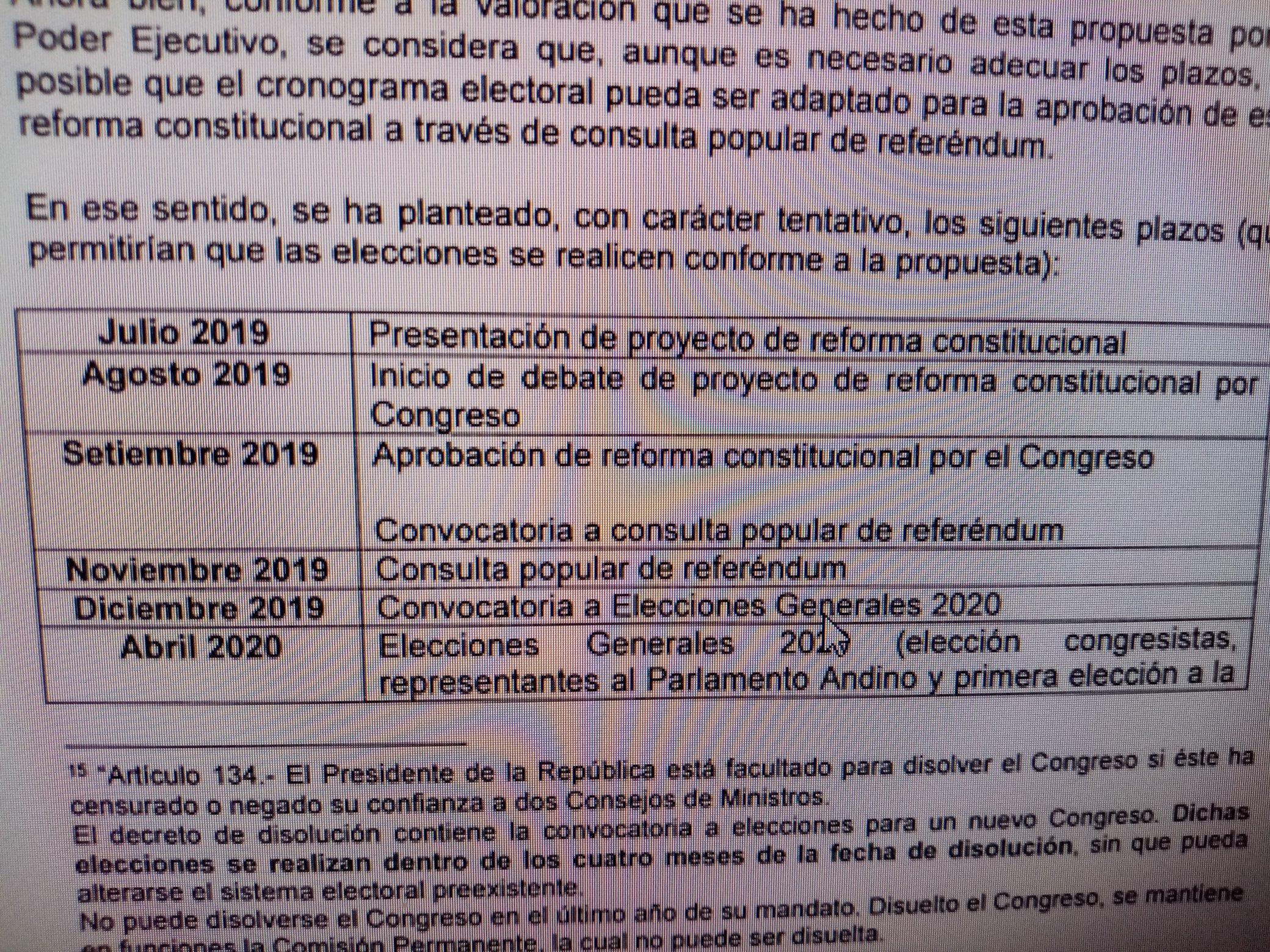 Calendario Elecciones 2020.Nuevo Cronograma Electoral Referendum En Noviembre Y Elecciones En