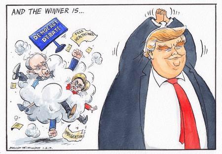 Best Cartoons 2020.Political Cartoon On Twitter Dave Simonds On The Ten