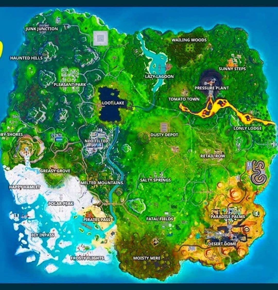 Jusryan On Twitter Is This A Leaked Map Of Fortnite New