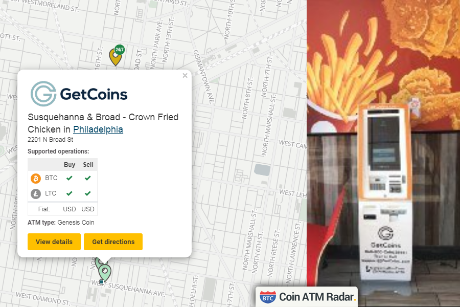 New installed @genesiscoin #bitcoin machine at Susquehanna
