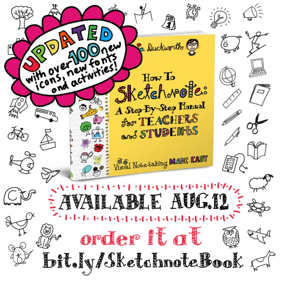 Exciting announcement: New, revamped 'How to Sketchnote' Book! - mailchi.mp/aa6b62674825/e…