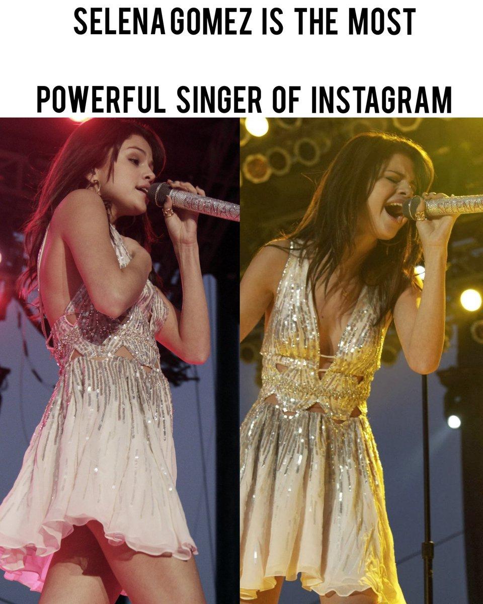 SELENA GOMEZ IS THE MOST POWERFUL SINGER OF INSTAGRAM Gomez