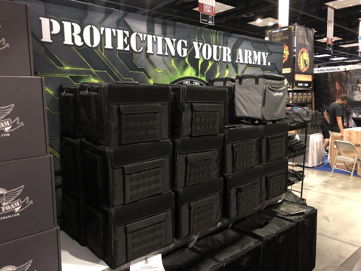 Battle Foam On Twitter We Are All Ready To Go At Gencon Booth 537 Visit Us To Get Our Con Discount And See The Awesome New Magna Rack Sliders We Make Transportation Taking a look at these new magna rack sliders from battlefoam! magna rack sliders we make transportation