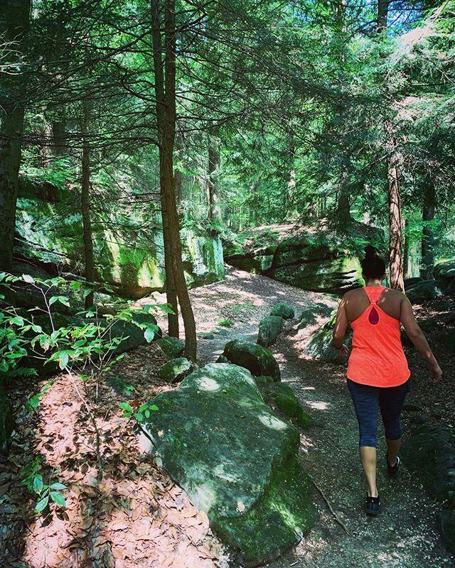 Explorations ☀️🌿😍 #latergram #cuyhogavalley #ledgestrail #hiking #greenongreen #ohio