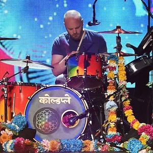 Wishing Will Champion of Coldplay a Very Happy 40th Birthday!