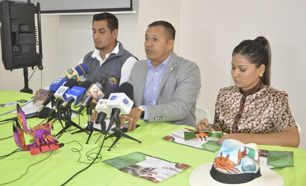 """Alcalde llegó a #Machala y habló en rueda de prensa Promocionan el #FestivalGastronómico """"Cangrejo Fest"""" que realizan en Naranjal. Más detalles aquí 👉🏻"""