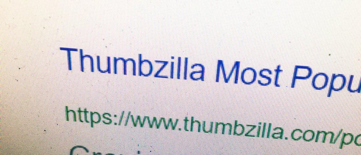 thumbzilla hashtag on Twitter
