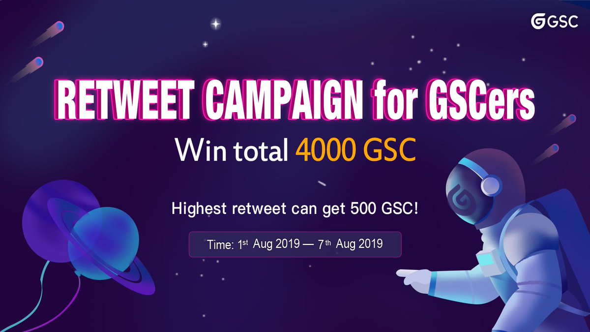 Hi GSCers!  🥳Notification: we already sent 💰GSC to 22 wallet address that winners gave to us, please remember to check your wallet:) Please keep an eye 👀on us further!