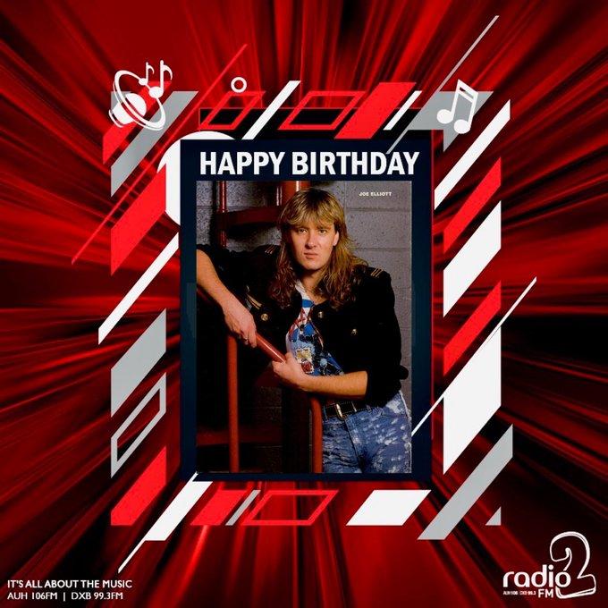 Def Leppard frontman Joe Elliott has a big birthday today! Happy 60th