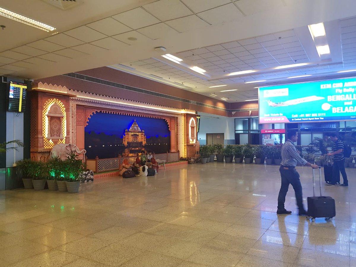 #AhmedabadAirport in support of Regional Connectivity Scheme(#RCS). Ude, Desh ka Aam Nagrik(#udan). Ahmedabad Airport operates regular flights under RCS Scheme to following destinations. Porbandar, Jaisalmer, Kandla, Nasik, Bhavnagar, Mundra, Diu and Belagavi. #AAIcares