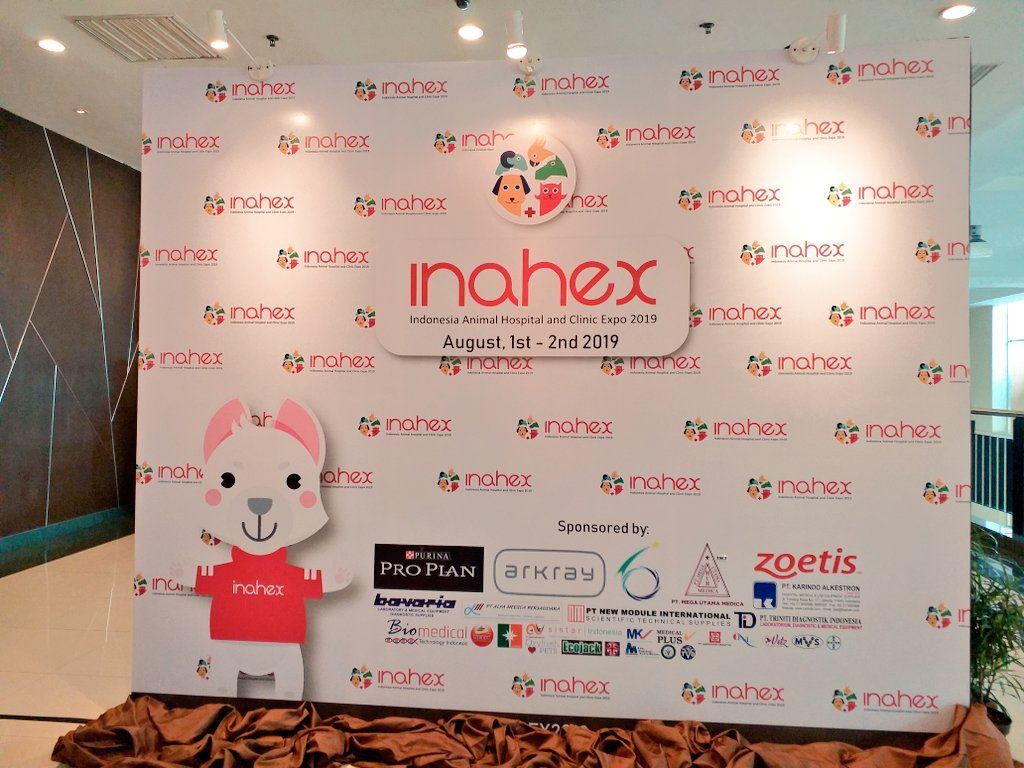 sarah on twitter i m in bogor inahex2019 looking forward to meeting lots of indonesian vets who are planning to visit singapore vet this october vetshow cpe singaporevet https t co 2drpnuc9ej twitter