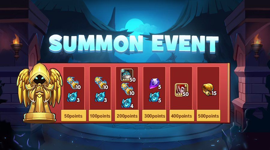 Idle Heroes Event Calendar