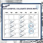 Image for the Tweet beginning: Important dates for August!  #rufc #liverpoolcollegiate