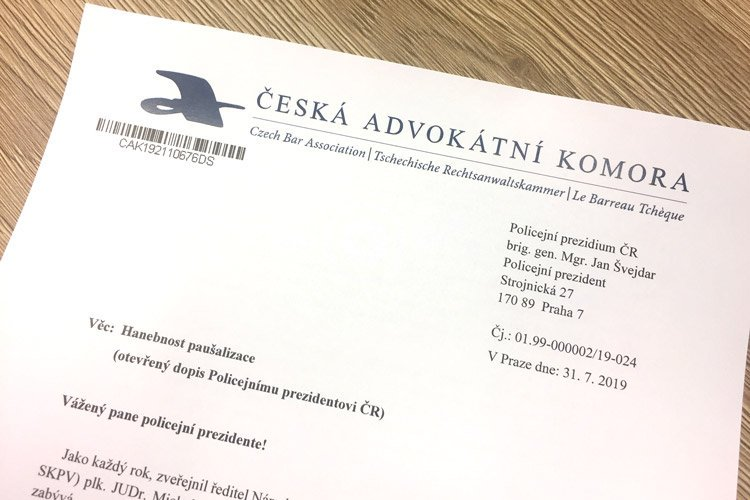 test Twitter Media - Paušální nařčení advokátů v oblasti daňové trestné činnosti je hanebné. Ohrazuje se předseda @CAK_cz Vladimír Jirousek v otevřeném dopise policejnímu prezidentovi Janu Švejdarovi a žádá vysvětlení a nápravu. Čtěte více https://t.co/u73zgdg4cd https://t.co/1XMHVkmIik