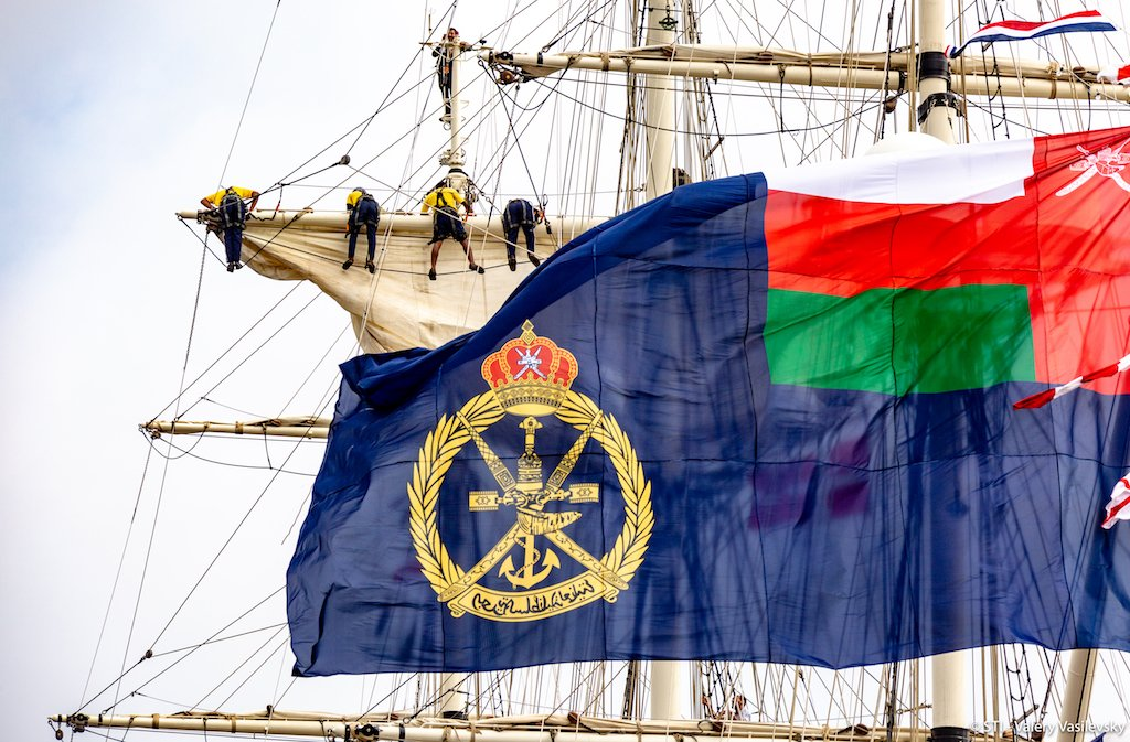 The fleet experienced strong challenging winds on their approach into Aarhus but have started to arrive for the final Host Port celebrations! #TallShips #Sailing #TSR2019