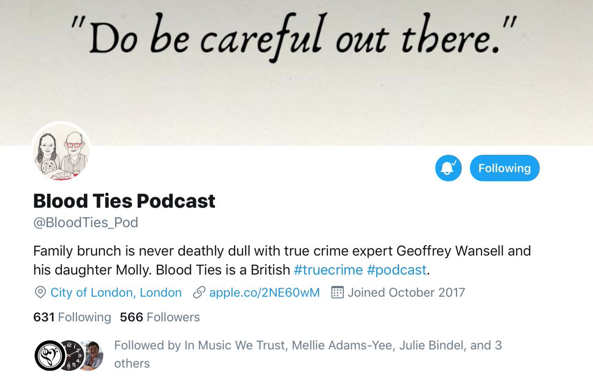 Blood Ties Podcast (@BloodTies_Pod) | Twitter