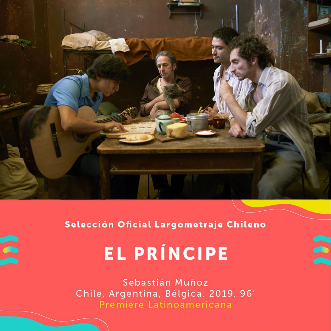Resultado de imagen de EL PRÍNCIPE (Chile, Argentina, 2019).