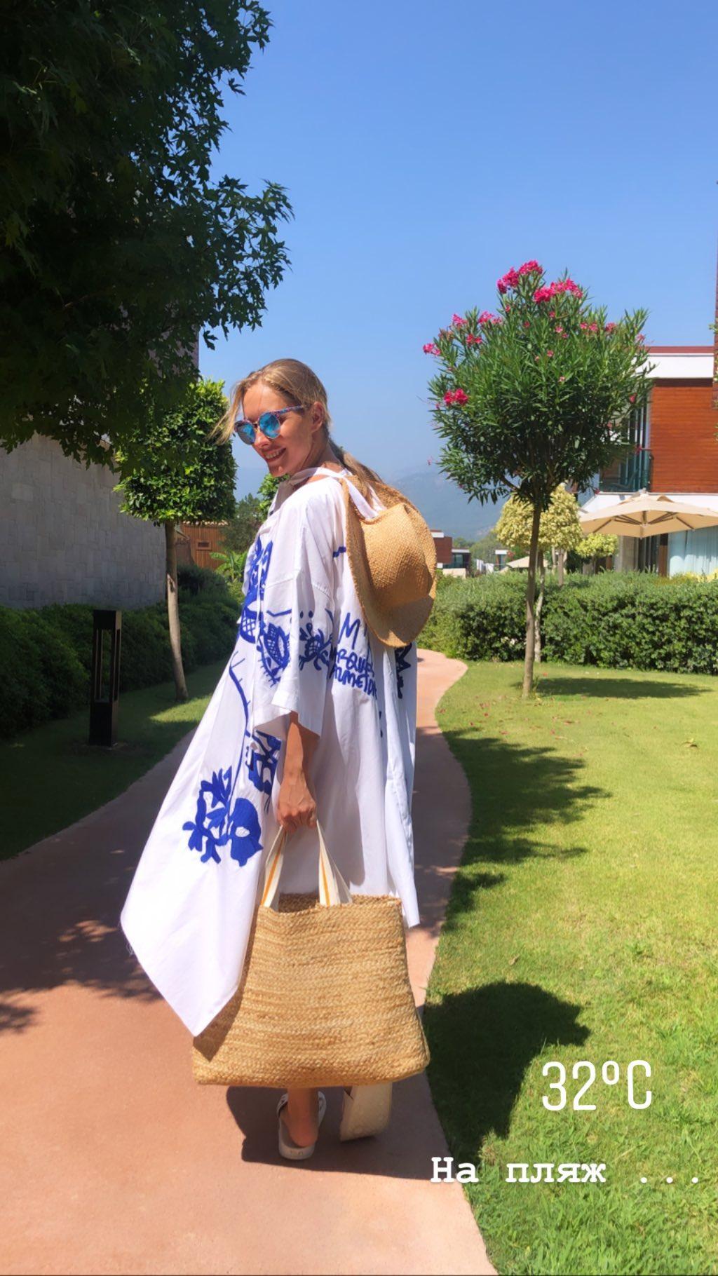 Катя Осадчая в Турции