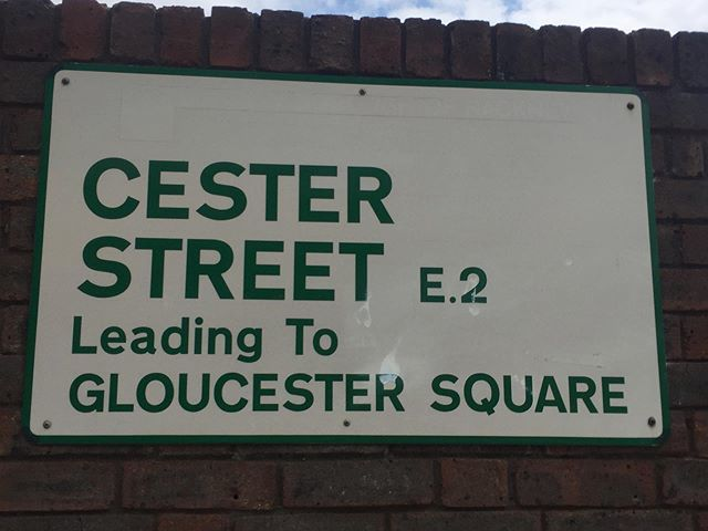 If Gloucester Sq is pronounced Gloster, how do you pronounce Cester? #gloucester #pronouncingthingsincorrectly #pronunciation #streetname #london https://ift.tt/2SWI0I1pic.twitter.com/VxXM1HsLeK