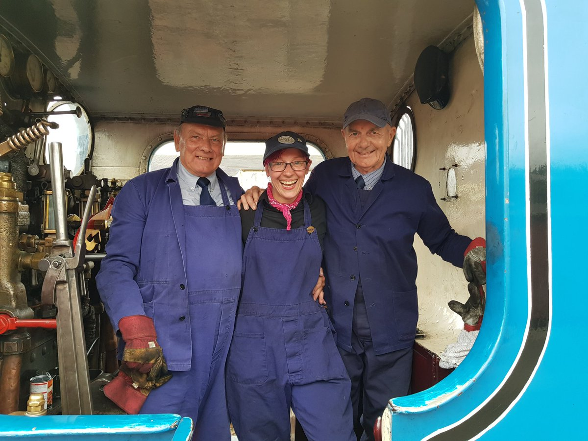 test Twitter Media - Our #volunteer crew on board CR No. 419 @bonessrailway today. Don't they look happy? https://t.co/YJQPDp4lPK