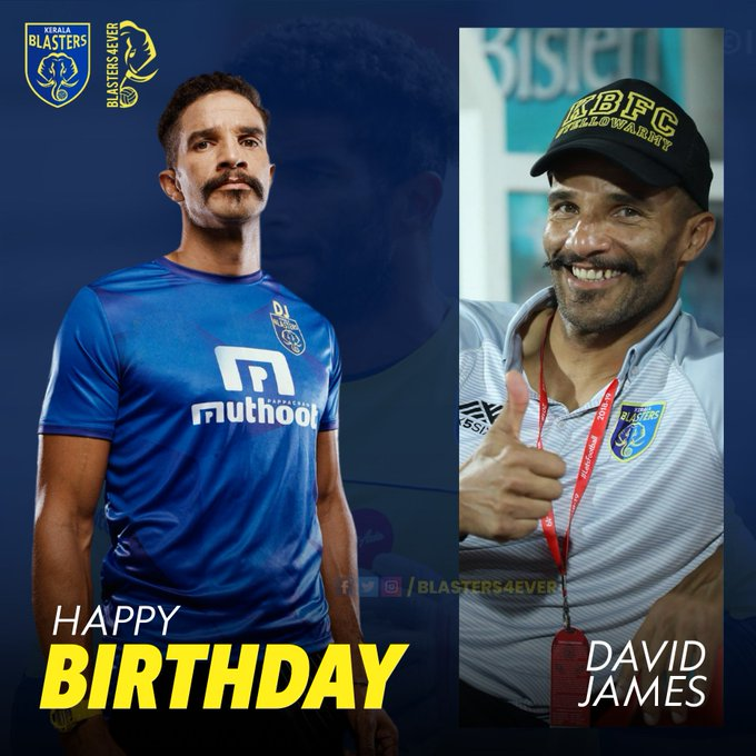 Here is wishing a happy birthday to David James!