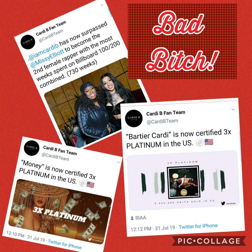 This the type of #Press she deserves #MommaBardi #BadBitch #BardiGang #Hitmaka #Money #BartierCardipic.twitter.com/NQVjDqBnJW
