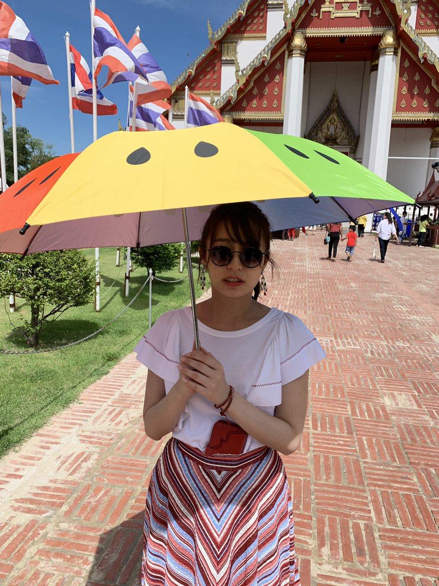 test ツイッターメディア - スイカの日傘を持たされて微妙な表情の宇垣さんです! 週プレnet公開中です!! https://t.co/k2NkIhamtp https://t.co/wnv7iyYnu1