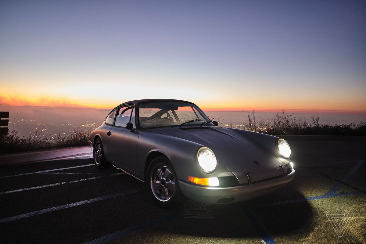 The Verge On Twitter This Tesla Powered Porsche 912 Is The New Face Of Vintage Restorations Https T Co Apjx03ctwd