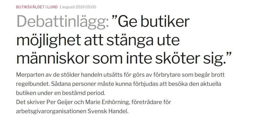 Det måste ge konsekvenser att begå brott! Bra debattinlägg @SvenskHandel