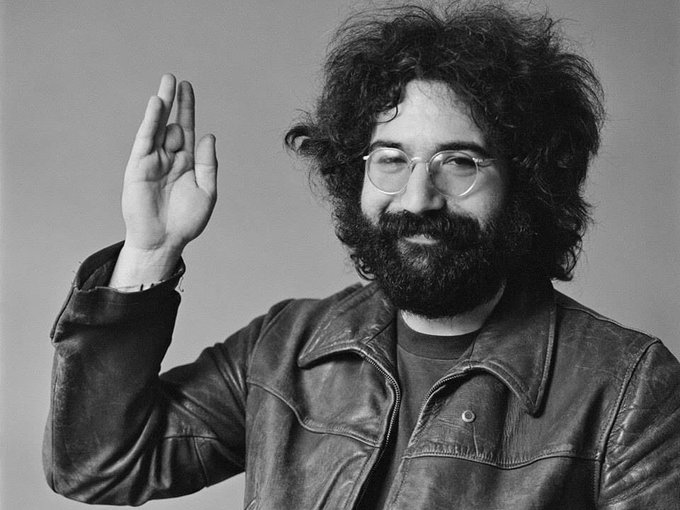 Happy Birthday  Jerry Garcia 77 Today Jerome John Garcia was born August 1, 1942 in San Francisco.