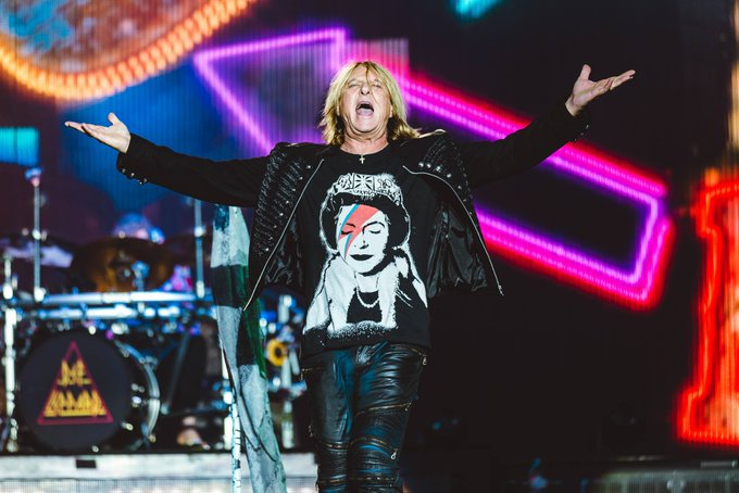 HAPPY 60TH BIRTHDAY to the one and only Joe Elliott from