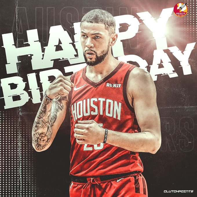 Join Rockets Nation in wishing Austin Rivers a happy 27th birthday!