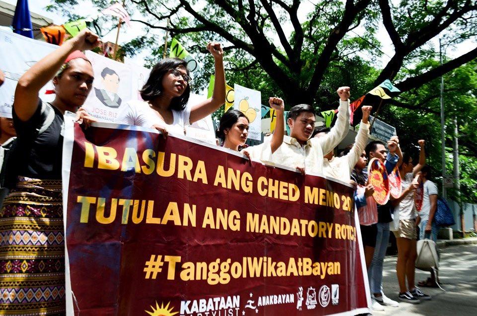PISTANG PROTESTA HIGHLIGHTS Sinugod ng sektor ng kabataan ang