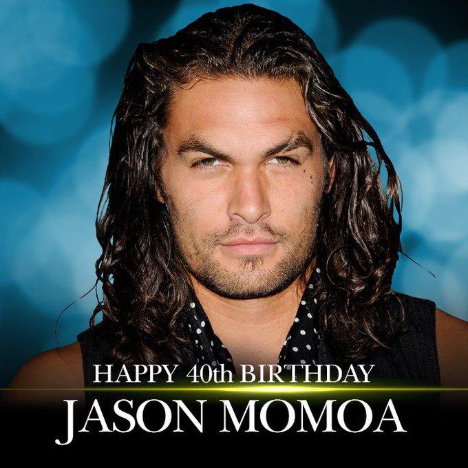 Happy 40th Birthday to Jason Momoa!  More entertainment news: