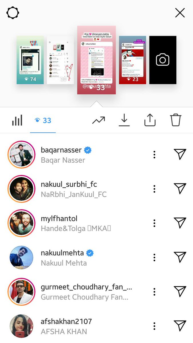 nakuulsurbhi hashtag on Twitter