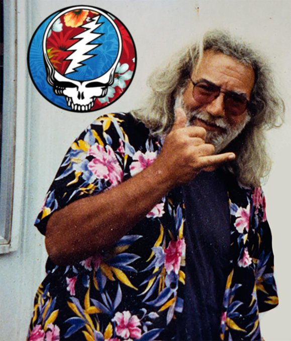 Happy 77th birthday, Jerry Garcia! You are still so loved and missed by many of us!