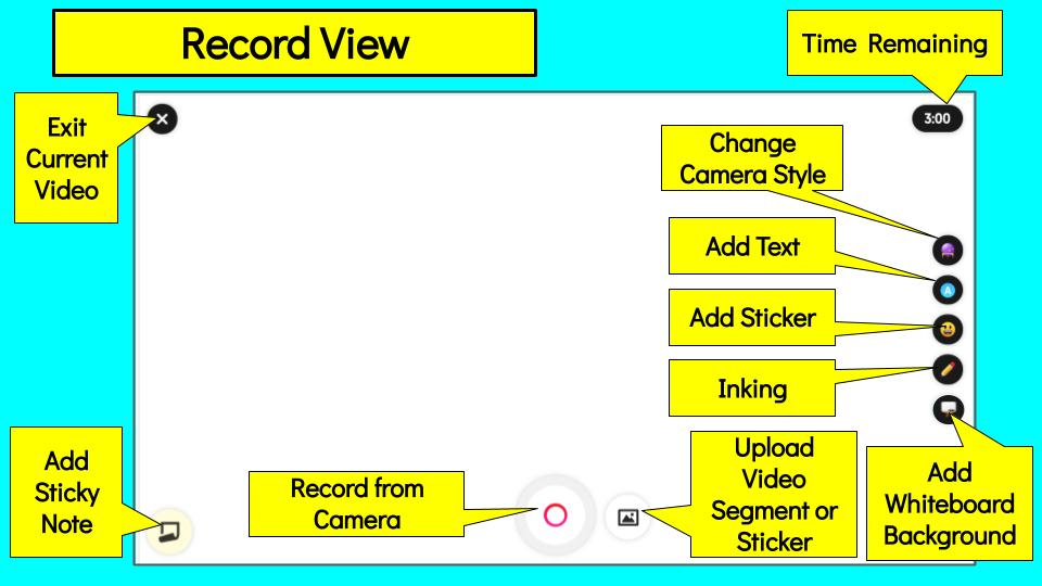 Let's get this going @Flipgrid #FlipgridFever Check out the new Flipgrid Recorder!