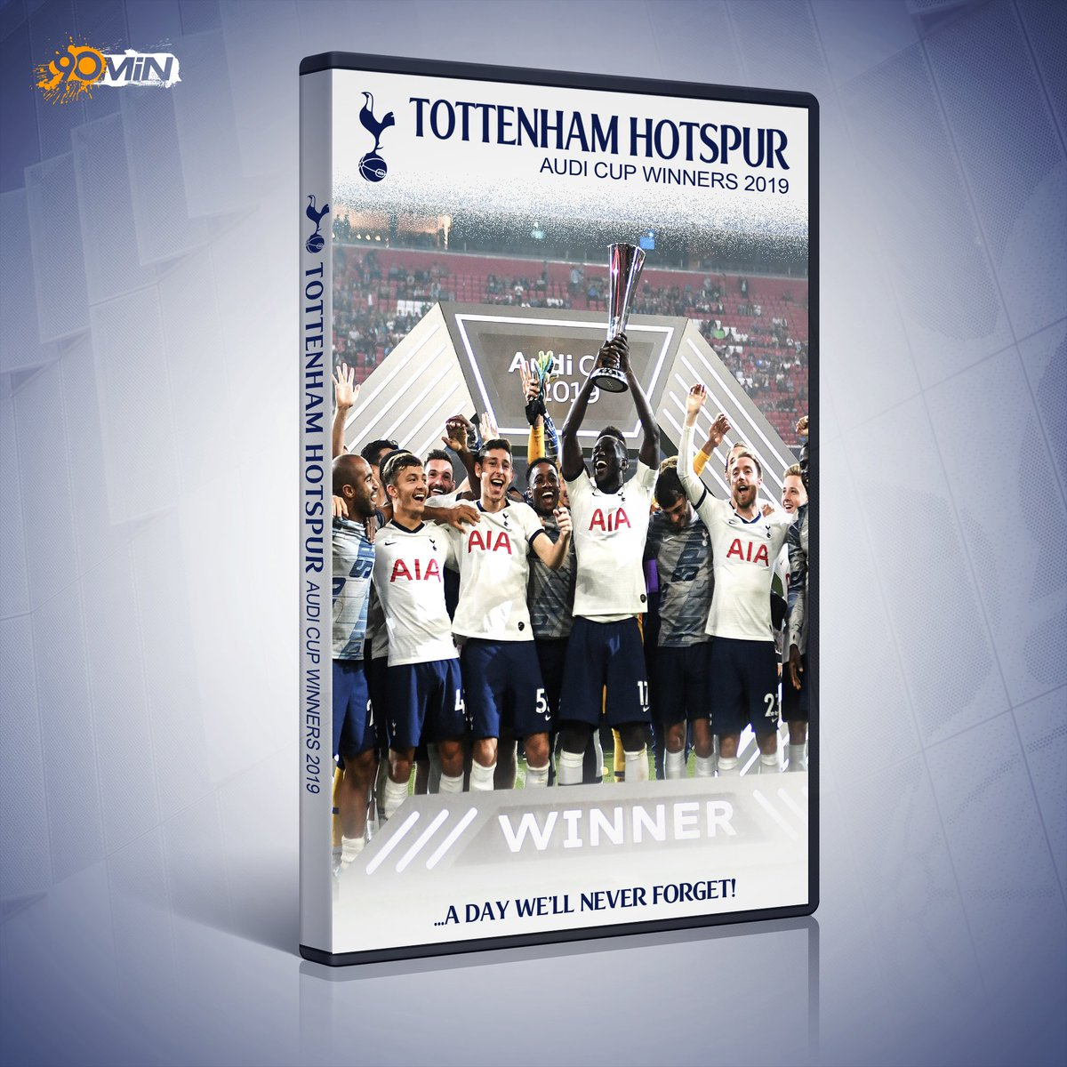 90min On Twitter Reviewers Are Saying Really And You Must Be Kidding Get The Tottenham Audi Cup Winners Dvd For Your Loved Ones This Summer Https T Co Mccmbnls1e
