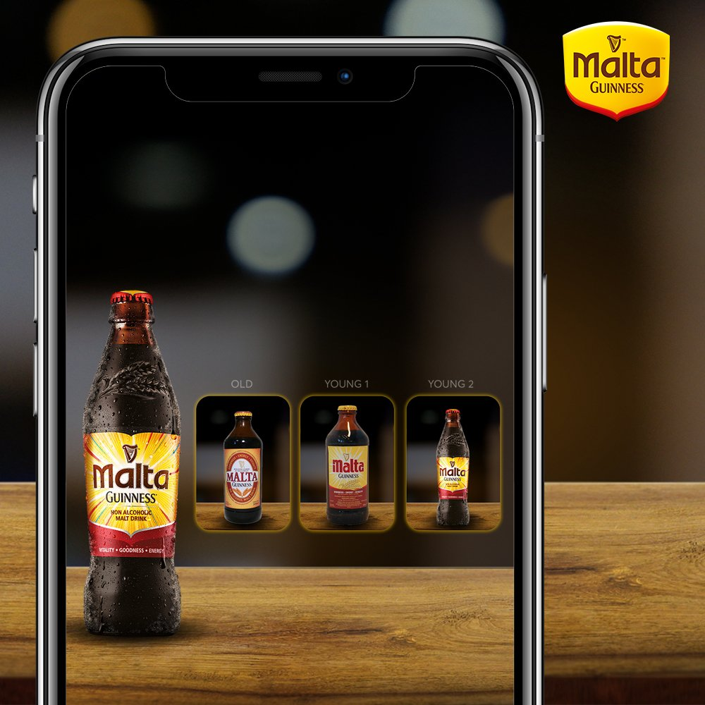 Why look old when you can be younger; Can your favorite  malt ever?  #maltaguinness #fuelyourgreatness #faceappchallenge <br>http://pic.twitter.com/dBncBseacX