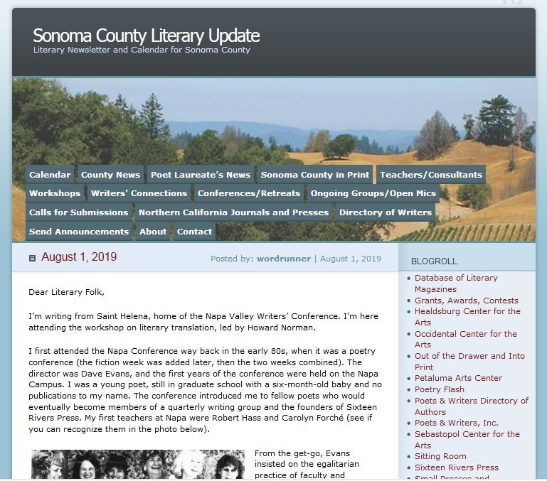 Napa Valley Writers' Conference (@napawriters) | Twitter